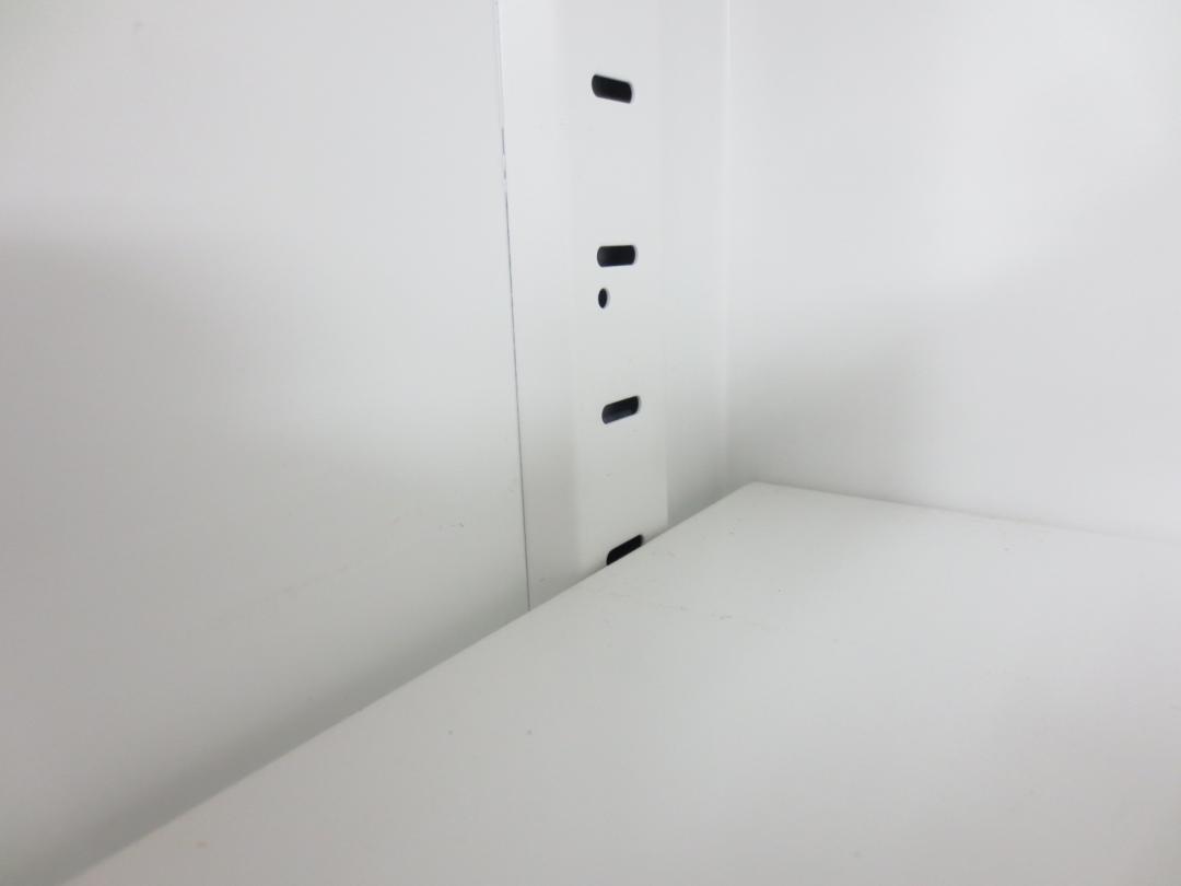 【人気のホワイト色!】5台入荷致しました!コクヨ製の書庫セット ■ 人気の両開き・3段ラテラルタイプは使い勝手抜群の大容量収納です!|エディア[EDIA](中古)