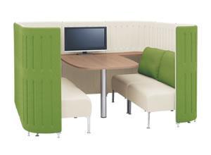 究極の会議室をミーティングスペースセット
