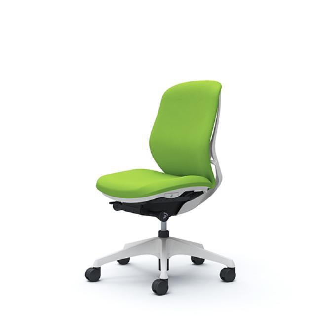 【新品】■岡村製作所Sylphy(シルフィー)ローバック■背、座面の丸みが美しいデザイン性溢れるチェアです