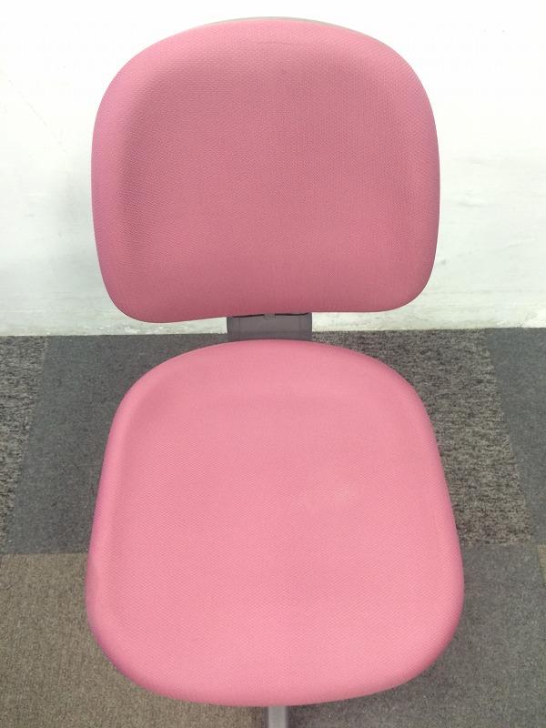 【安価チェア】国内トップメーカー製の肘無しチェアを8脚入荷です! ピンクカラーでお部屋の雰囲気を明るくします!|バリューチェア[VALUE](中古)