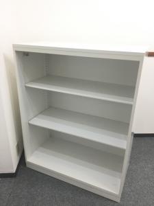 人気のホワイト/国内トップメーカー コクヨ製のオープン書庫が入荷致しました。