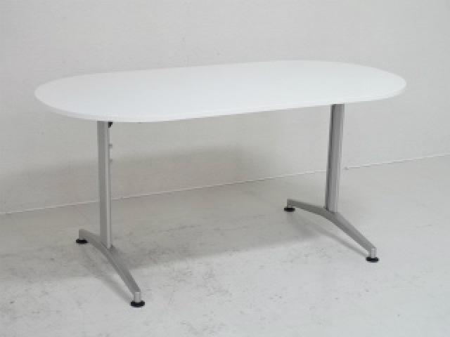 イトーキ製ミーティングテーブル/天板色:ホワイト/【RA】【253】