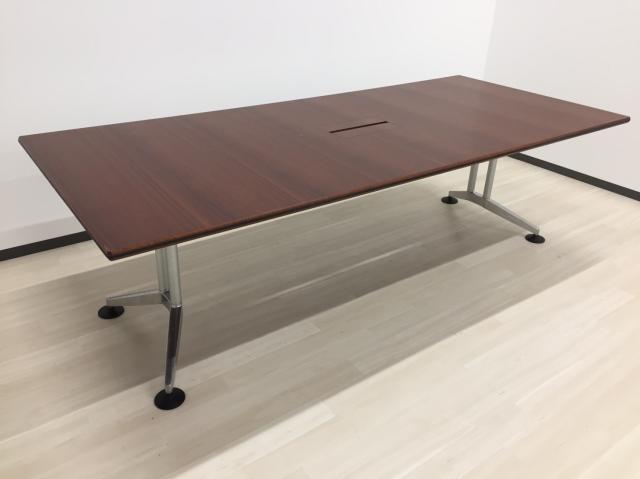 [限定1台‼][新品M価格52万円]ウィルクハーン(Wilkhahn) ロゴン ミーティングテーブル W2400■あのお洒落で有名なデザイナーズ家具を会議室に!