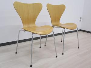 [2脚セット][デザイナーズ家具]セブンチェア Fritz Hansen デザイナー:アルネ・ヤコブセンの代表作
