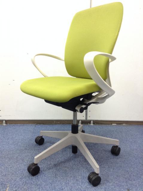 【おつとめ品】爽やかなライトグリーン色でオフィスを鮮やかに!