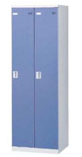 扉色2種あり、華やかなロッカールームを演出するカラー扉タイプのロッカーです。【シリンダー錠】