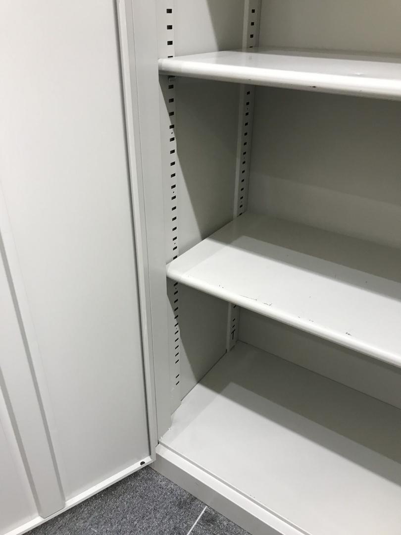 【プラス製】ハイキャビネットで収納力アップ!!5段収納書庫!!|その他シリーズ(中古)