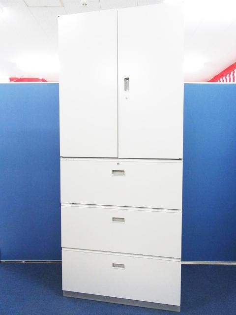 【月内納品可能!】[大容量保管庫!!]イトーキ(ITOKI) 両開き×3段ラテラル 書庫セット■A4書類6段収納可能で圧倒的な保管量を誇ります!![シンラインシリーズ][鍵1本付]