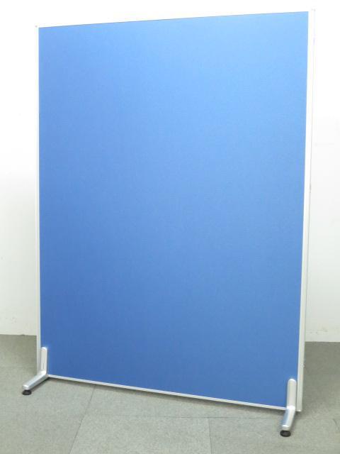 ■ローパーティション ブルー(布張り)■W1200×H1600mmタイプ【衝立パネル】