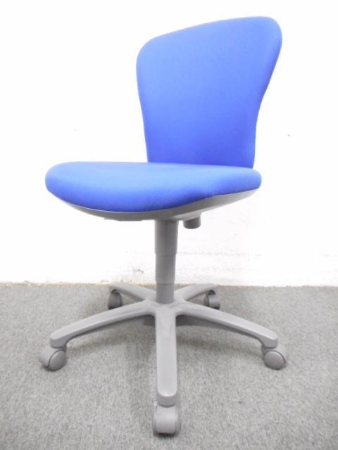 【ふっくらとしたクッションが気持ちいい!】■コクヨ製 オフィスチェア ■レグノ2 ブルー