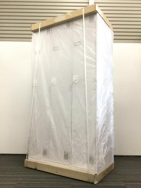 【新古品】ナイキ製 3人用ロッカー|人気のホワイト、ダイヤル式ロッカー入荷致しました!