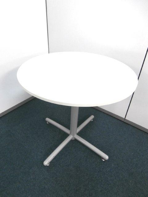 【注目商品!!ホワイト色・丸テーブル】■その他メーカ― ■5台限定