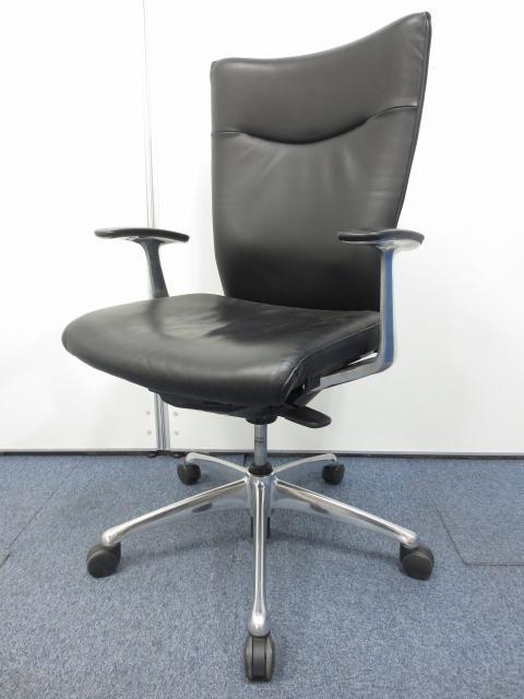【商品入れ替えの為特別価格】【肘付き】シンプルなデザインと快適な座り心地!オカムラ製フィーゴチェア!