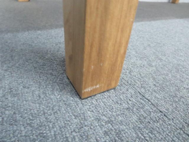 【値下げしました!】■木製テーブル(W1400mm)■【リフレッシュスペースにもオススメ!】|-(中古)