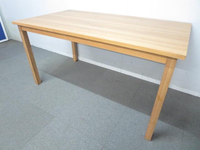 ■木製ワークテーブル 幅1400mm ■ダイニング・リフレッシュスペースにもオススメ!