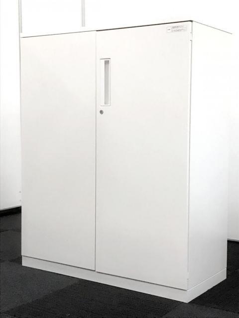 【A4、3段分サイズ!】ホワイト色収納書棚!安心のコクヨ製|【日焼けありの為お得価格】