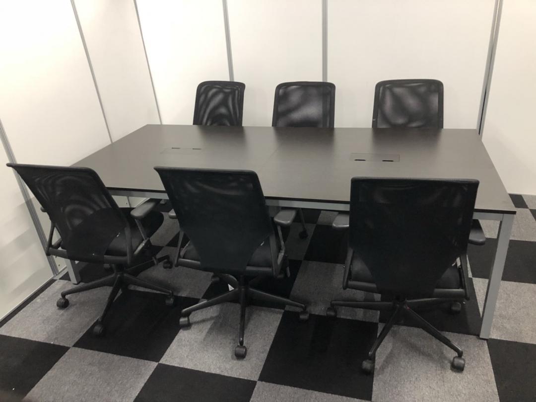 【残り僅か】クールなミーティングスペースにいかがですか?6名様セット!|その他シリーズ(中古)