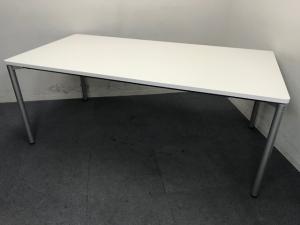 【ホワイト】|ミーティングテーブル|打ち合わせスペースに最適ですね!