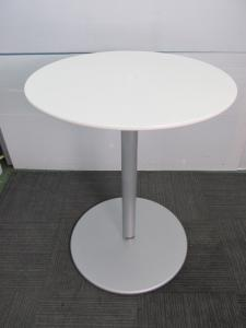 【カウンターテーブル】オカムラ製 丸テーブル