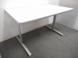 ■オカムラ ミーティングテーブル ホワイト ■【W1500mm】4人用として最適!【β】