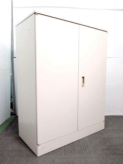 【天板付き】オカムラ製単体書庫 42シリーズ 両開き扉 ハイカウンターとしても使えます♪