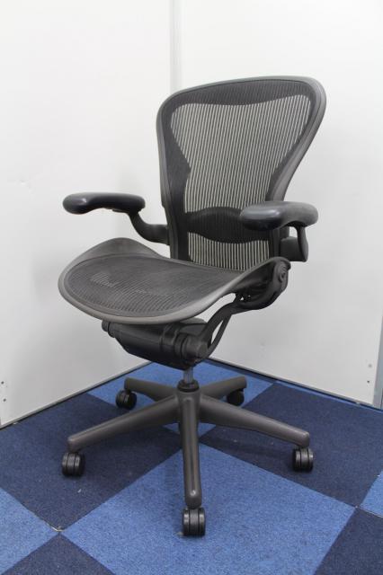 【king of chair】■ハーマンミラー アーロンチェア スタンダード Bタイプ ■知る人ぞ知る圧倒的なパフォーマンス!独特なデザイン!【HermanMiller AeronChair】