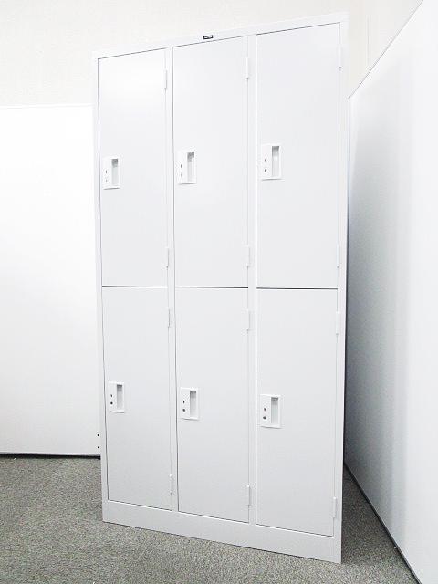 【新品でも御安くご提案可能!!】清潔感溢れる更衣室作りに是非!中古ではなかなか揃わないロッカーもオフィスバスターズなら大量に揃います!