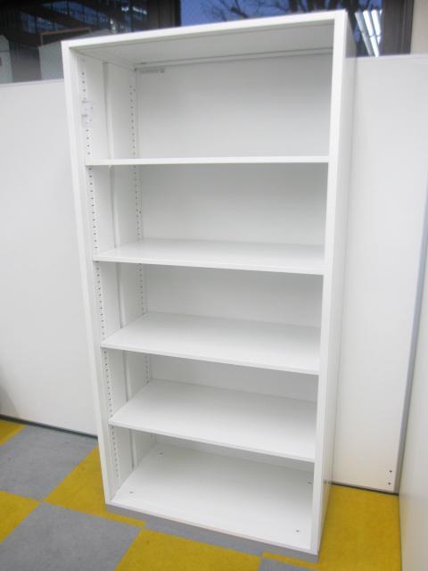 【4台入荷】【希少なホワイトカラー!】オープン書庫
