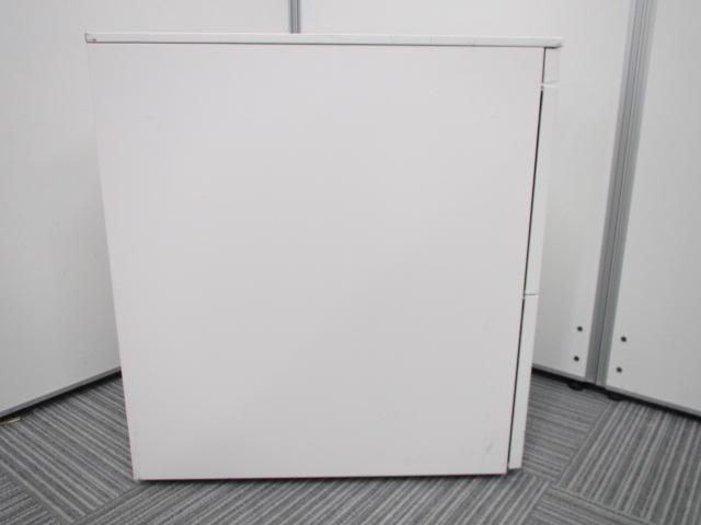 [状態良好][ホワイトカラー]3段ワゴンキャビネット キャスター付き イトーキのNEW定番シリーズ CZRシリーズ!|CZR(中古)_8