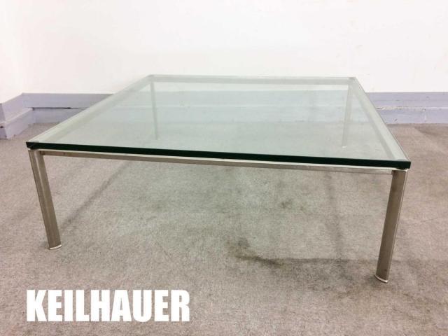 KEILHAUER/キールハワー Branden/ブランデン ガラスセンターテーブル
