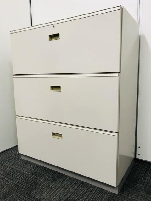 【A4ファイルを大容量収納できます!】引出しタイプの背表紙が見やすい収納書庫です!