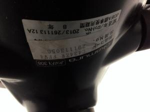 【残り1脚特価!】オカムラ ESCUDO ワンランク上のスタンダードモデル!! スタイリッシュなブラックシェル コートハンガー付き[ESCUDO](中古)