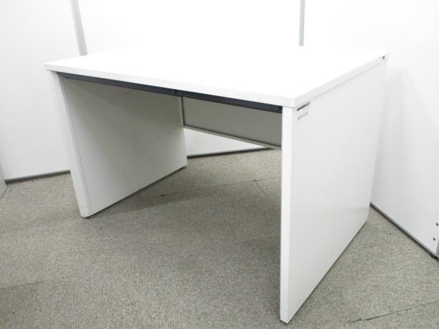 【パネル脚仕様】デザイン性の高いパネル脚ホワイトデスク|イトーキ CZR|