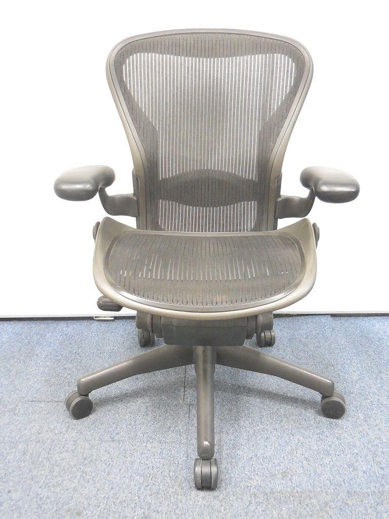 【チェア界の王様!】憧れのチェアがリユースならではのお手頃価格で手に入るチャンス! アーロンチェアBタイプ■バナナクッション|アーロンチェア[Aeron chair](中古)