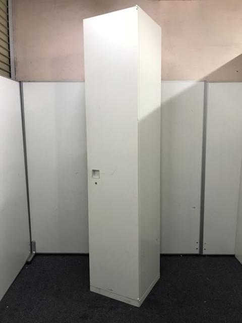 【レア入荷】【ホワイト】高さ2150サイズ 1人用ロッカー