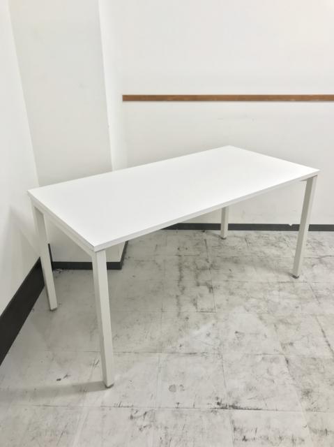 国内トップメーカー 内田洋行製のミーティングテーブルが入荷致しました。 しかも人気のホワイト色!!