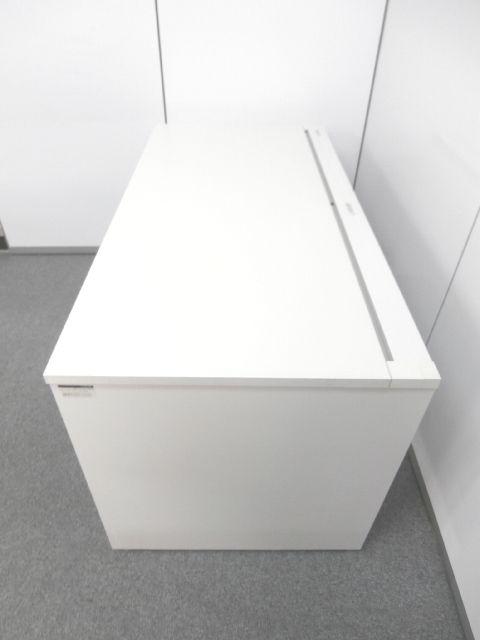【パネル脚型・ホワイトカラーデスク・横幅1400mm】■イトーキ製 ■高さ720mm|その他シリーズ(中古)