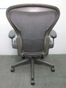 【ワケ有りおつとめ品】ハーマンミラー アーロンチェア Bタイプ スタンダード【ランバーサポート無しのため】[Aeron chair](中古)