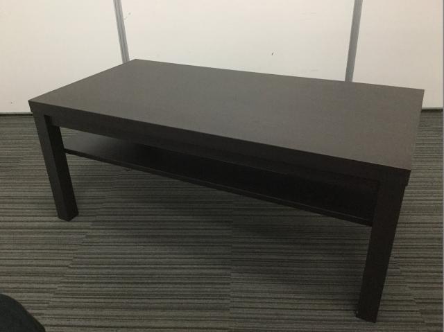 【限定1台】横幅1100mmのセンターテーブル 新古品なので綺麗です!