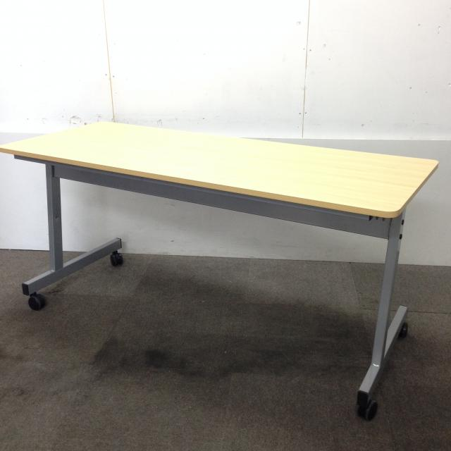 【組立無しで送料無料】会議用テーブルがロット入荷で箱のまま在庫しております!