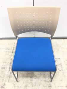 【大量入荷】ジョインテックス スタッキングチェア【会議椅子】軽くて扱いやすい背もたれ樹脂製!!【ミーティングチェア】積載収納| (中古)