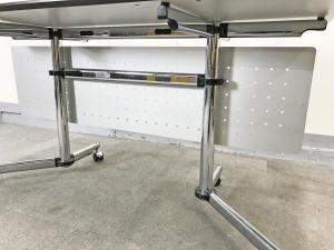 USMハラー キトス テーブル/デスク W1500 幕板付き hhstyle  (中古)