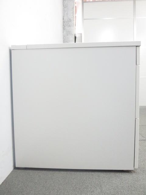 【収納・ワークスペースアップに是非!】■イトーキ 3段脇机 ■ホワイト H720mmタイプ|CZR(中古)