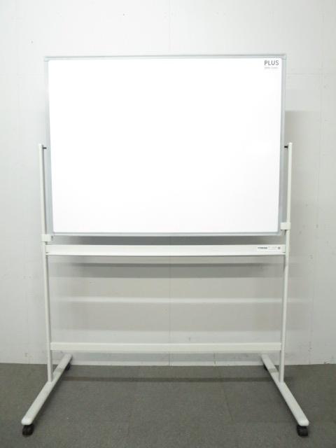 【これからのホワイトボードのスタンダード!】■片面自立ホワイトボード パシャボ W1200mm ■スマホ対応!パシャっと撮って専用アプリで自動補正できます!|その他シリーズ(中古)