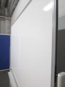 ■プラス製 片面ホワイトボード(W1200mm)■パシャボシリーズ【PLUS】|その他シリーズ(中古)