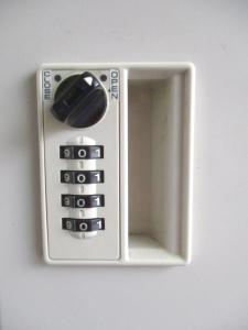 【3列3段のロッカー!】希少なダイヤル錠です!【小物の収納に最適!】|その他シリーズ(中古)