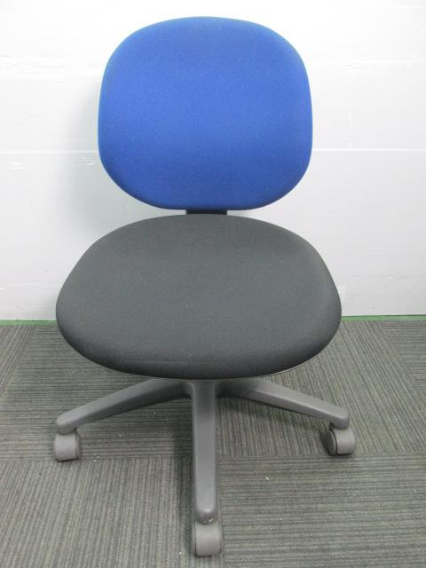 【シンプルチェア】内田洋行製オフィスチェア リクライニングロック付き ジャストチェア[JUST](中古)