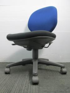 【シンプルチェア】内田洋行製オフィスチェア リクライニングロック付き[JUST](中古)