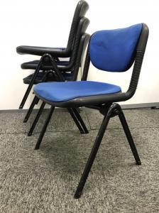 【1脚販売】会議や研修で使えるチェアの入荷です!積み重ねて使える商品になりますので、場所も取りません![vertebra](中古)
