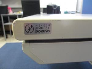 [配線カバー欠品のためお安く!!]コクヨ(kokuyo) 平デスク 旧MXシリーズ 横幅1200mm■オフィスの定番!!横幅120cmをお探しなら此方がおすすめです!! 【β】[old_mx](中古)